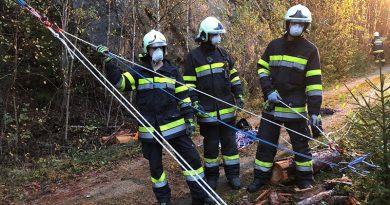 Übung Menschenrettung im steilen Gelände – 19.10.2020