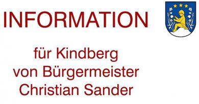 6. Information für Kindberg zum Coronavirus von Bgm. Christian Sander – 16.05.2020